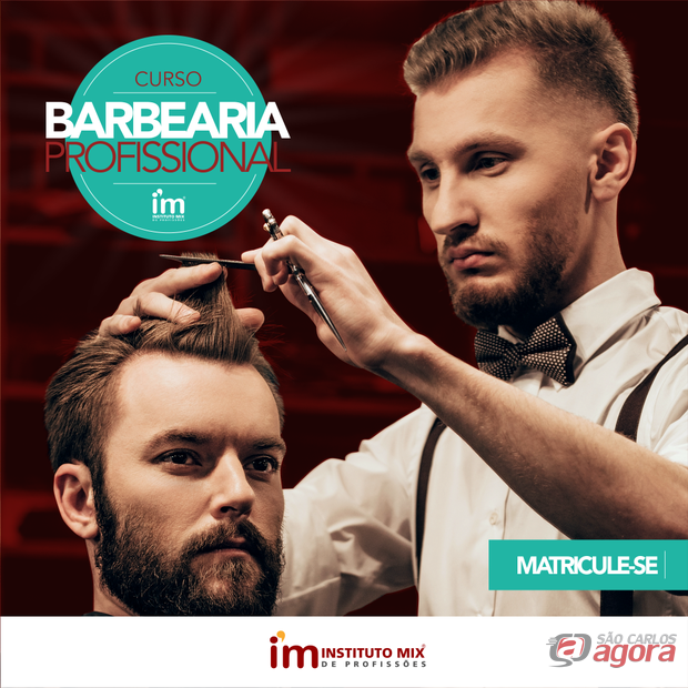 O sucesso foi tão grande que abrimos novas vagas! Curso de Barbearia Profissional no Instituto Mix São Carlos. -