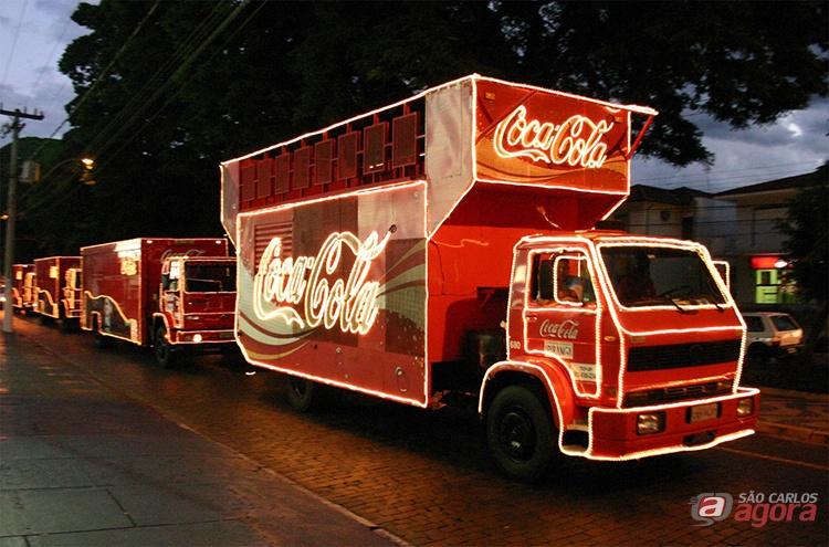 São Carlos recebe Caravana da Coca-Cola nesta segunda-feira (18); confira o trajeto -