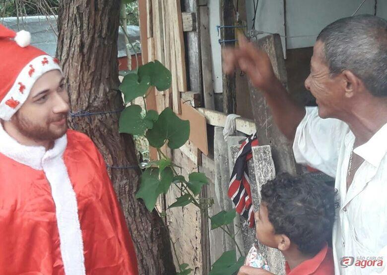 Ação Solidária leva alegria ao Antenor Garcia  -