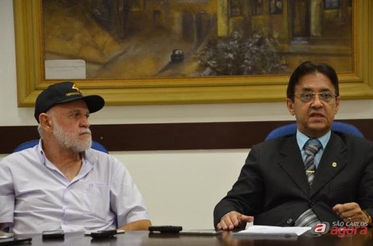 Airton Garcia e Ademir Souza são alvos do MP em ação de improbidade administrativa. (foto arquivo) -