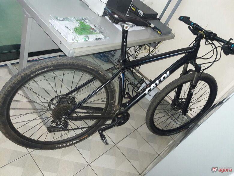 GM recupera bicicleta que foi furtada no Embaré -