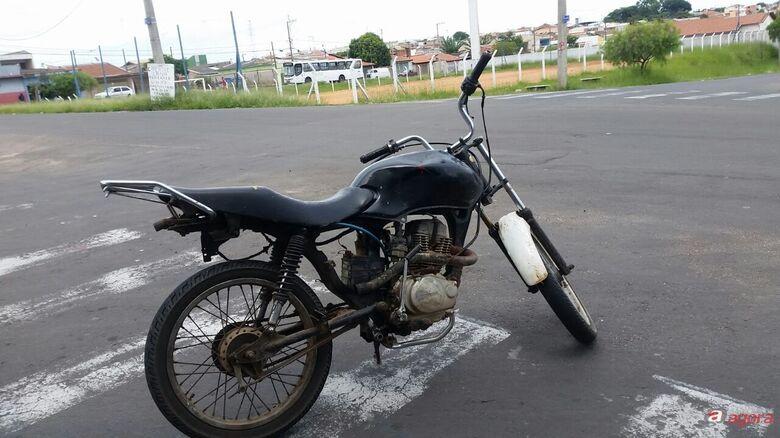 Adolescente é flagrado conduzindo moto com o chassi adulterado -
