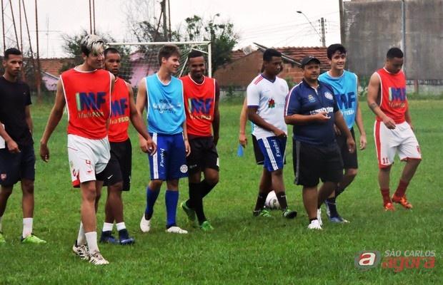 Atletas em observação pelo Lobão farão dois testes diante do Catanduva FC. Foto: Gustavo Curvelo/Divulgação -