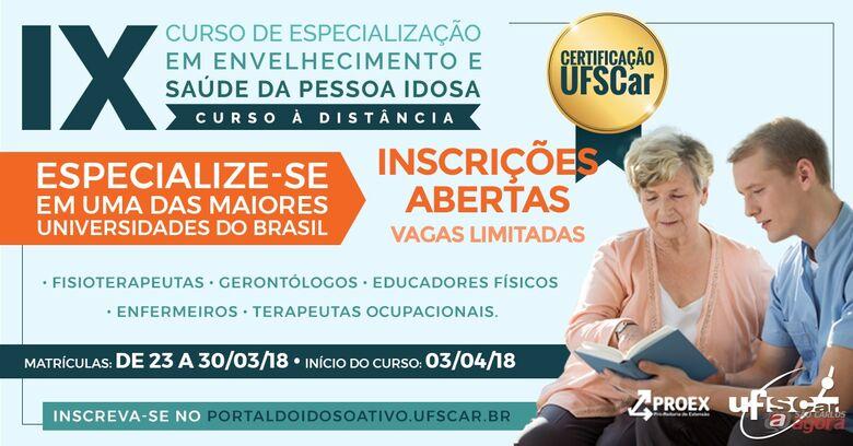 Foto: SEaD/UFSCar -