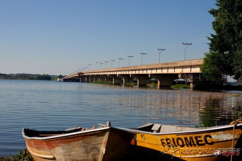 Pescadores desapareceram no Rio Tietê (foto Regional Press) -
