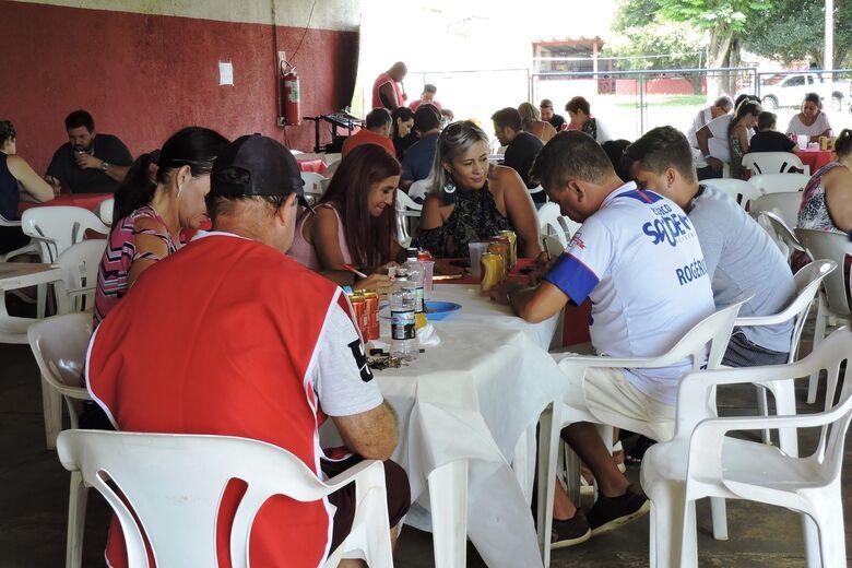 Confraternização foi a primeira do clube pós-filiação à FPF - Crédito: Gustavo Curvelo/Divulgação