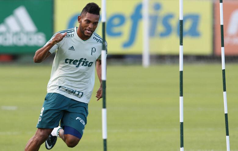 Na artilharia, o Palmeiras também aparece em destaque, com o colombiano Borja - Crédito: Cesar Greco/Agência Palmeiras/Divulgação