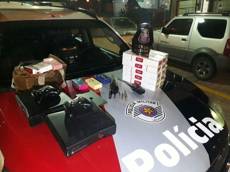 Força Tática prende homem acusado de receptação de produtos roubados - Crédito: Luciano Lopes