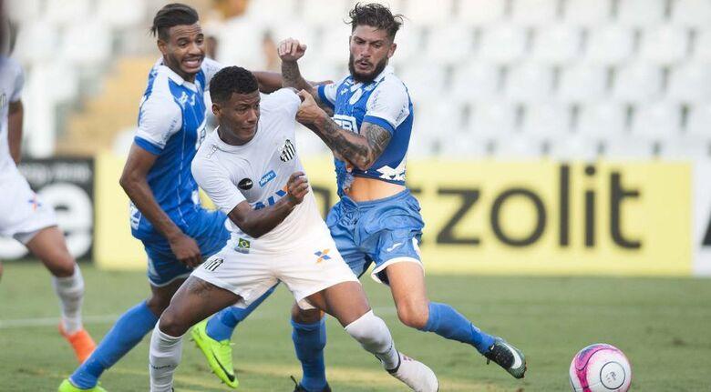 Santos perde do São Bento, mas termina fase de grupos do Paulistão na liderança -