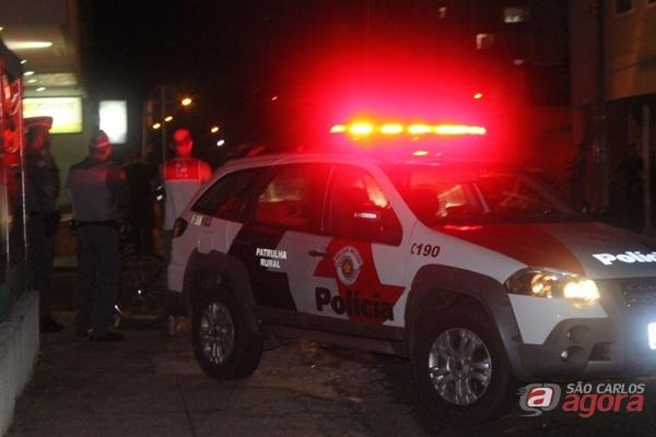Ação efetiva de guardas municipais e PMs acabaram com a bagunça na Rua Larga - Crédito: Divulgação