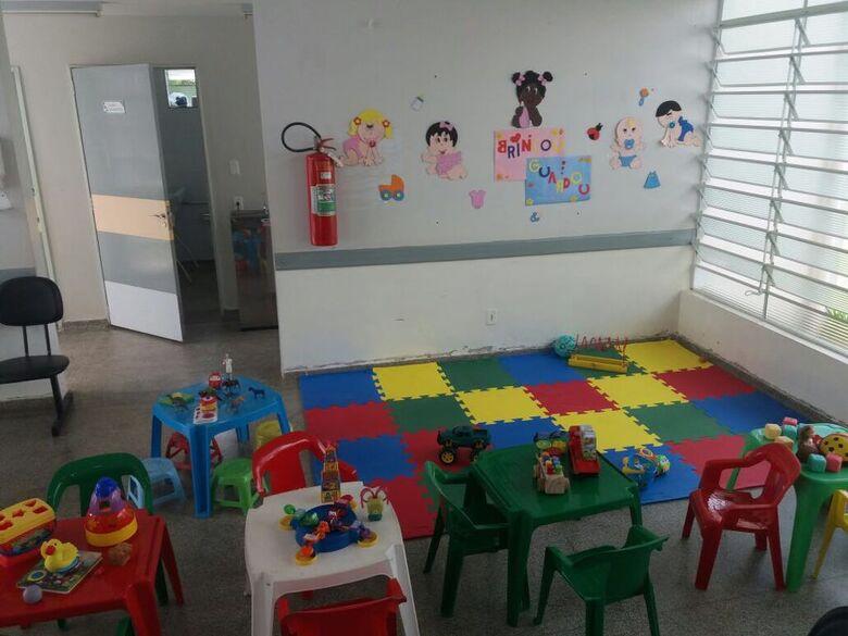 Secretaria de Saúde instala brinquedotecas nas unidades de saúde - Crédito: Foto: Divulgação PMSC