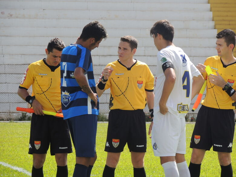 Será o quarto jogo que Lima apitará da Águia - Crédito: Rovanir Frias/SCFC