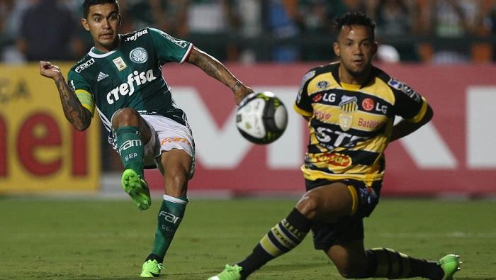 Palmeiras será o primeiro grande a entrar em campo pelas quartas de final - Crédito: Cesar Greco/Agência Palmeiras/Divulgação