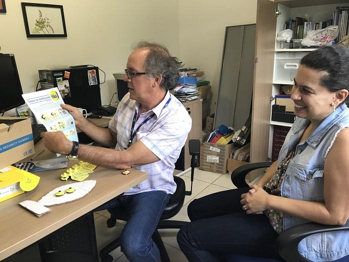 Waldomiro e Marcela participam da comissão de estudos que traduziu a norma - Crédito: Ana Maio