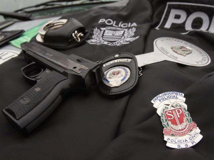 Concurso da Polícia Civil-SP 2018 será coordenado pela Vunesp - Crédito: Divulgação
