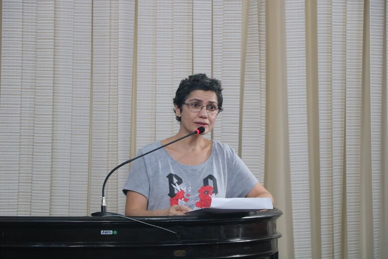 Soraya Mattar Gonçalves, do Fórum de Saúde Mental: apelo em defesa dos pacientes que estão sem transporte desde janeiro - Crédito: Divulgação