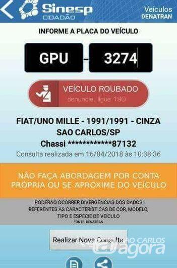 Uno é furtado na Vila Prado e proprietário pede ajuda para localizá-lo -