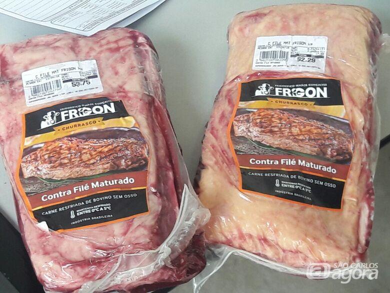 Jovem é preso acusado de furtar carne em supermercado - Crédito: Maycon Maximino