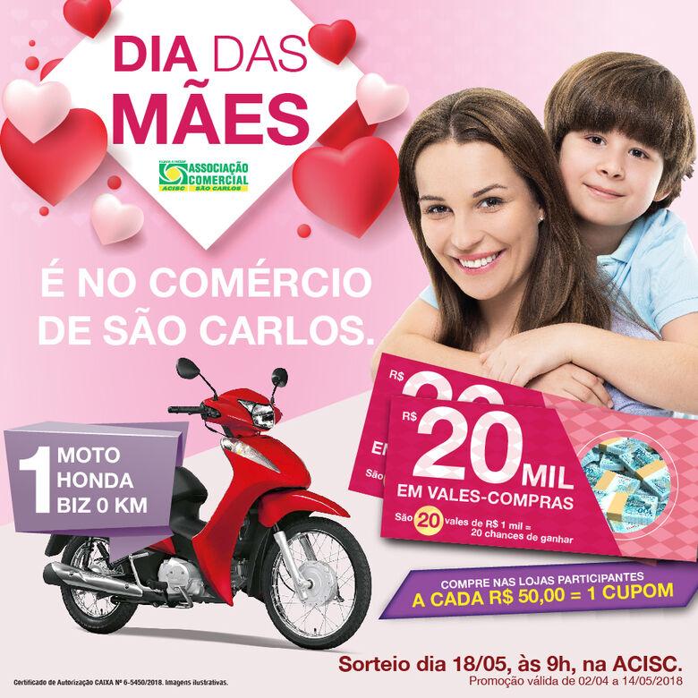 Acisc divulga as lojas participantes da campanha do Dia das Mães -