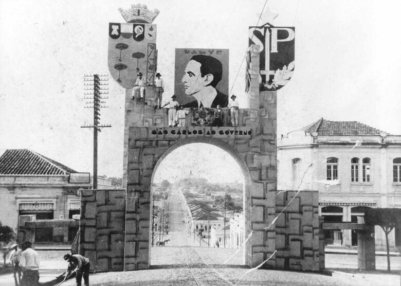 A cidade nos Anos Dourados - Crédito: Thomaz Ceneviva e Arquivo Historico