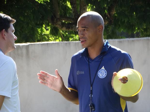 """Ídolo em São Carlos, Marcus Vinícius considera """"um novo desafio"""" comandar as equipes sub15 e sub17 - Crédito: Marcos Escrivani"""