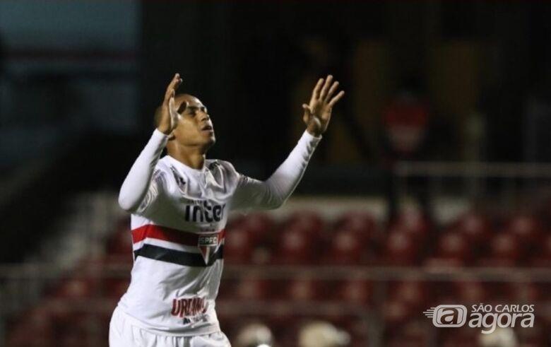 Bruno Alves fez o gol da vitória são-paulina - Crédito: Rubens Chiri/saopaulofc.net