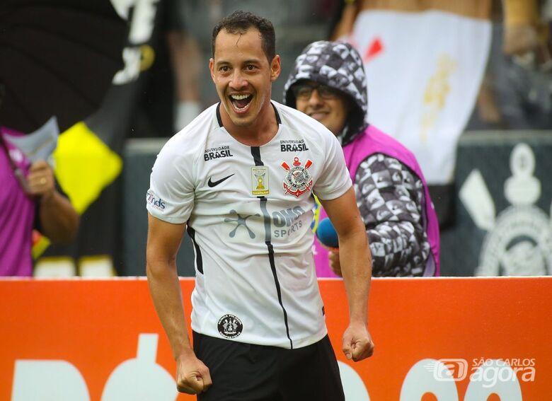 Rodriguinho, artilheiro do Timão, fez dois gols no Fluminense - Crédito: Rodrigo Coca/Agência Corinthians/Divulgação