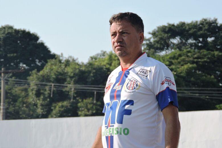 Treinador espera partidas difíceis contra a União Barbarense - Crédito: Gustavo Curvelo/Divulgação