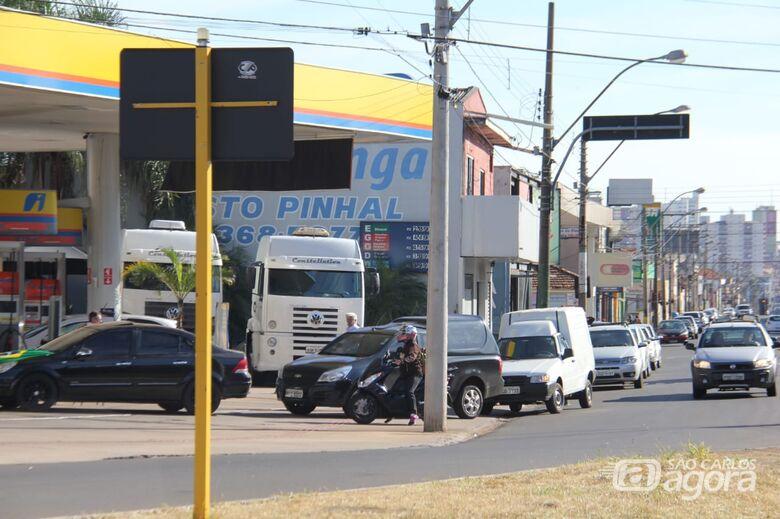 Veja alguns postos que estão abastecendo em São Carlos - Crédito: Maycon Maximino