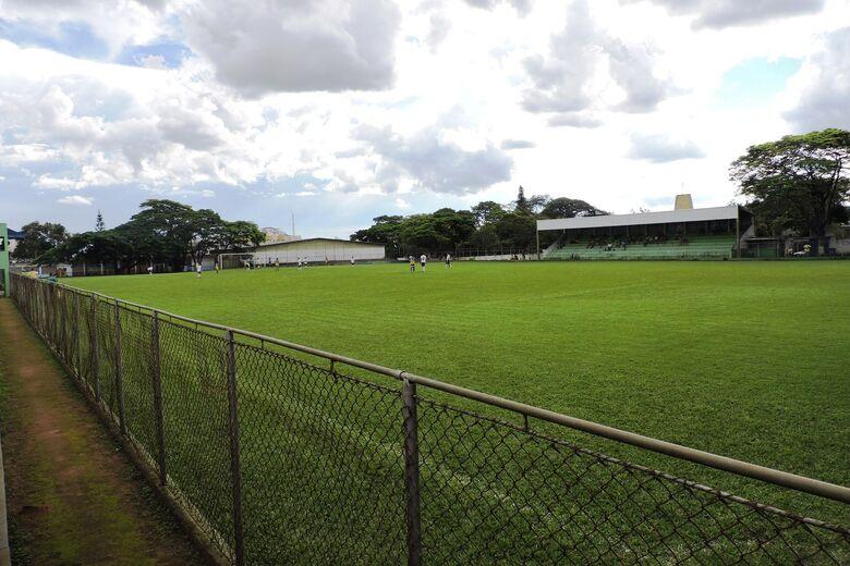 Praça esportiva da Vila São José recebe a decisão do torneio - Crédito: Gustavo Curvelo/Divulgação