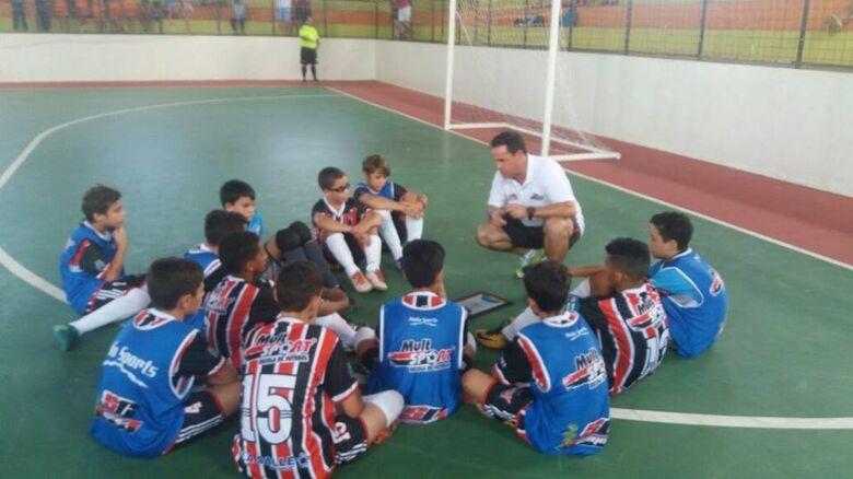 Sub10 do Multi Esporte irá participar de um torneio promovido pela SE Palmeiras - Crédito: Divulgação