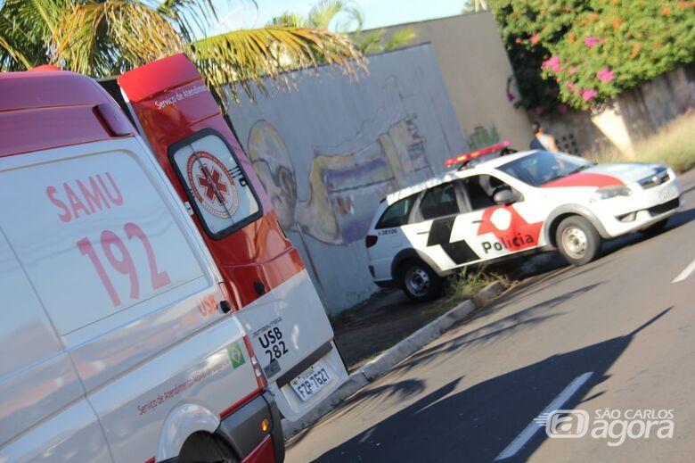 Apenas danos nos veículos envolvidos - Crédito: Maycon Maximino