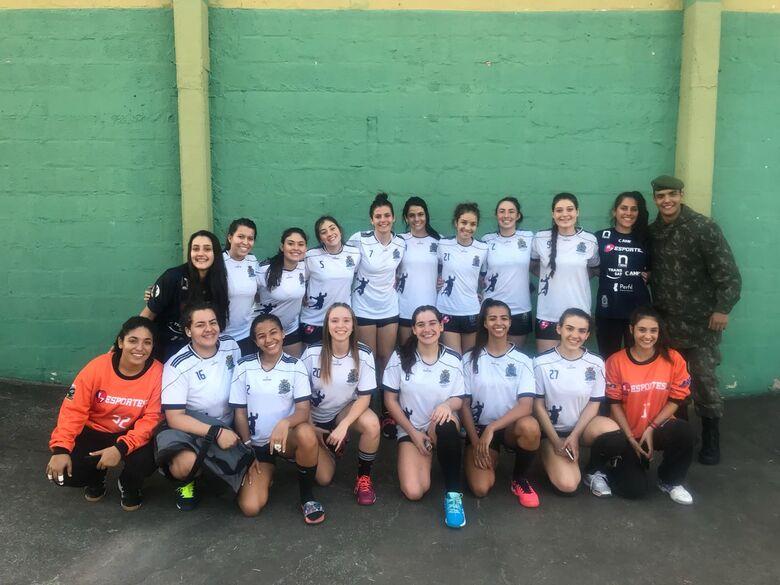Meninas de São Carlos foram guerreiras e superaram Botucatu - Crédito: Divulgação