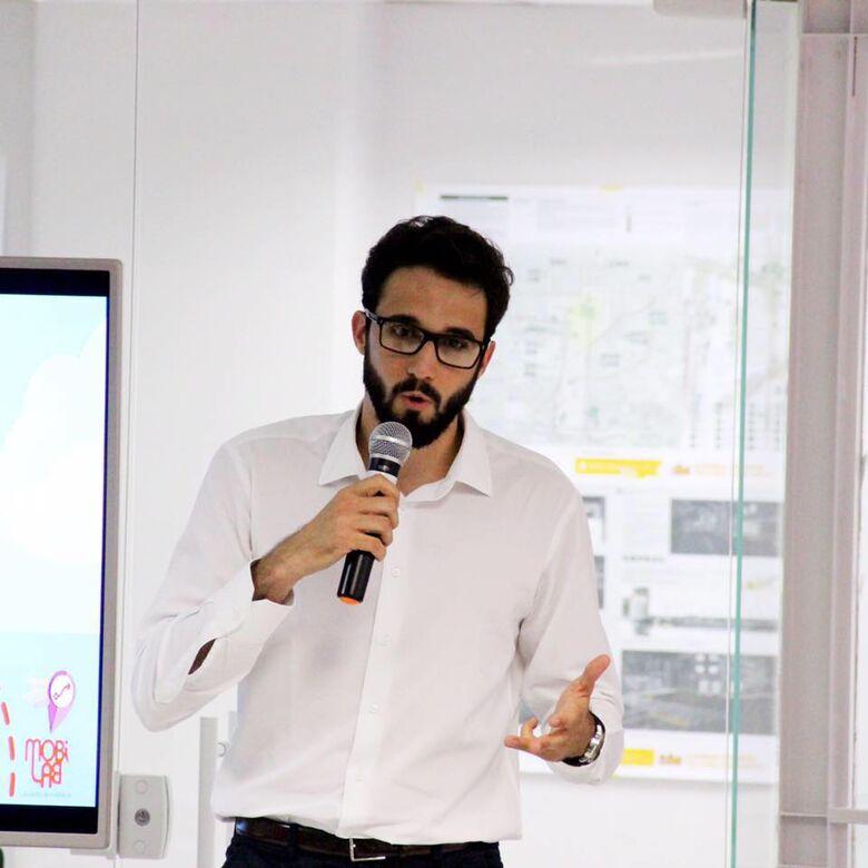 Luiz Renato Mattos, idealizador do aplicativo OnBoard - Crédito: MobiLab