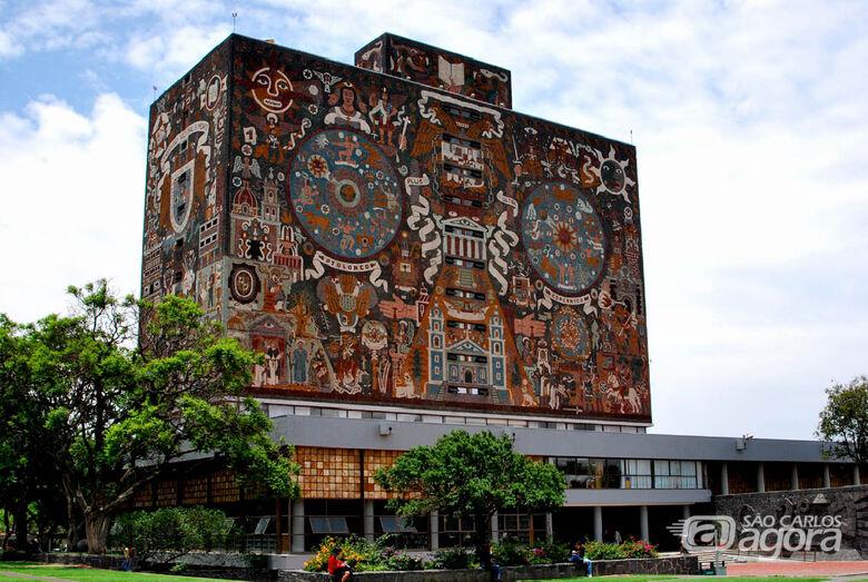 Sede da Unam, na Cidade do México, onde professora realiza estágio pós-doutoral - Crédito: PPGGeo-So