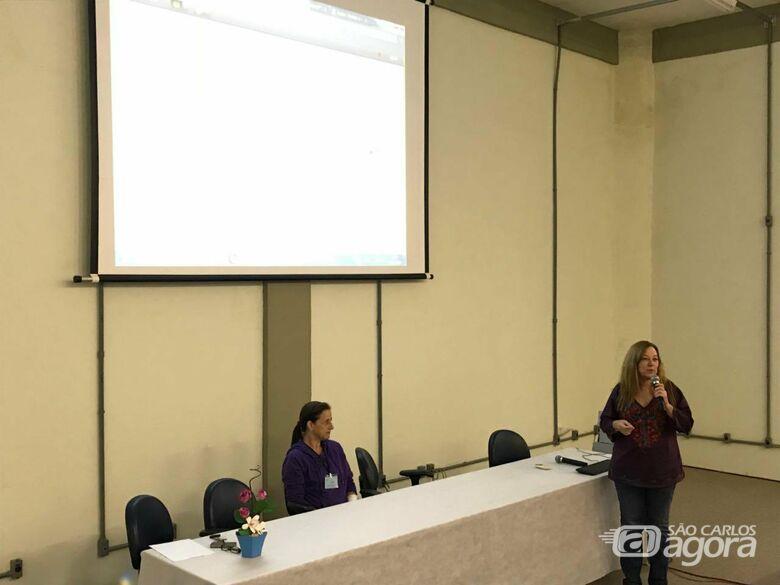 Apresentação da Roda de Conversa na USE-UFSCar - Crédito: Andrea Palhano de Jesus