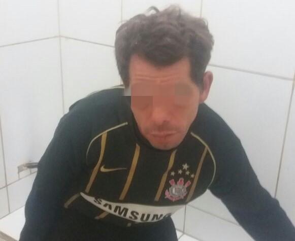 M.A.S. foi acusado de furto e autuado em flagrante - Crédito: Marco Lúcio