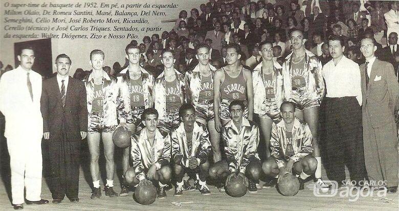 A era de ouro do basquetebol de São Carlos - Crédito: Arquivo Histórico e Divulgação