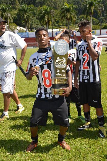 Ibateense é campeão pelo Atlético Mineiro fazendo gol em cima do Cruzeiro - Crédito: Divulgação