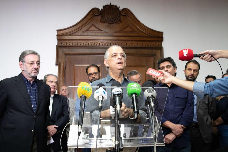 Governador Márcio França cancela agenda em São Carlos - Crédito: Divulgação