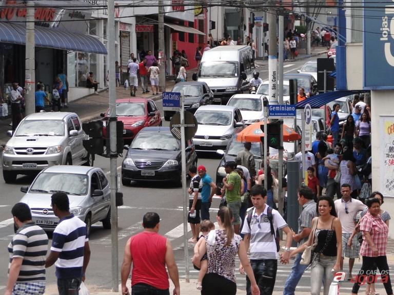 Paralisação dos caminhoneiros afeta o comércio de São Carlos - Crédito: Arquivo/SCA