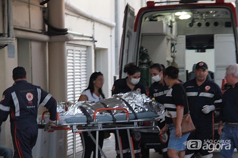 Criança fica ferida após cair de cavalo - Crédito: Fotos Maycon Maximino