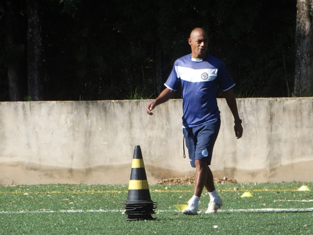 Marcus Vinícius está otimista e acredita em mais uma vitória do sub15 - Crédito: Marcos Escrivani
