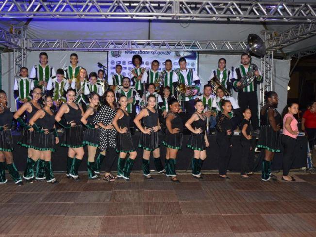 Banda Marcial Municipal de Ibaté é um projeto cultural que dispõe de aulas oferecidas, gratuitamente, para toda a população - Crédito: Divulgação