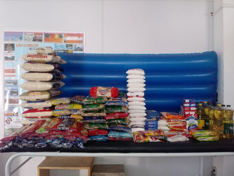 Campanha arrecada alimentos para o Fundo Social de São Carlos - Crédito: Divulgação
