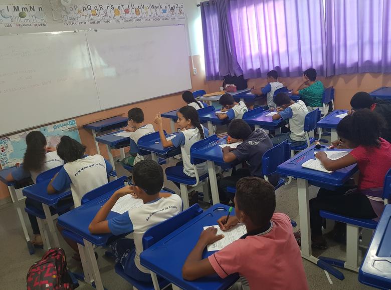 Escola Municipal de Ibaté participa de Olimpíada Brasileira de Astronomia e Astronáutica - Crédito: Divulgação
