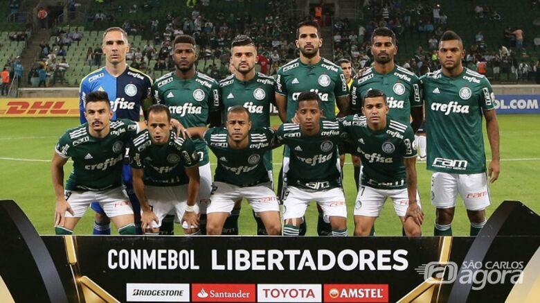 Palmeiras fecha a primeira fase com a melhor campanha da Libertadores - Crédito: Cesar Greco/Agência Palmeiras/Divulgação