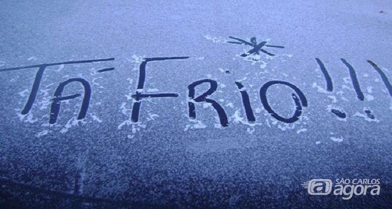 São Carlos deve ter recorde de frio neste domingo -