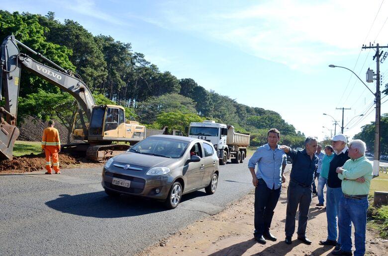 DER inicia duplicação em trecho da rua Coronel José Augusto de Oliveira Salles -