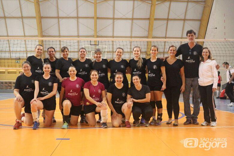 São Carlos Clube A estreia e pega o Voleibol Clube no Ginasião - Crédito: Marcos Escrivani